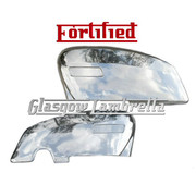 Lambretta GP HIGHLY POLISHED STAINLESS STEEL SIDE PANELS SET (Original Innocenti spec)