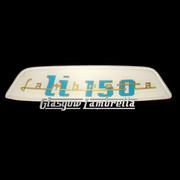 Lambretta Li 150 REAR FRAME BADGE (Made to original spec.)