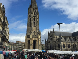 St.Michel market in Bordeaux