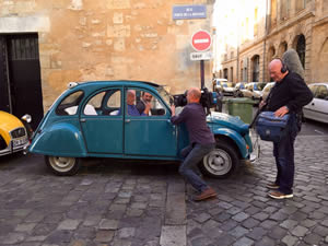 Picking up the 2CV
