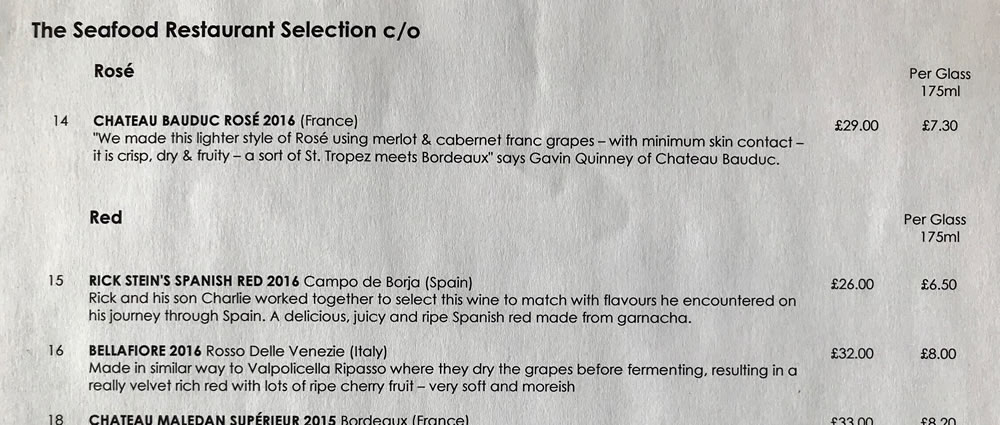 Rick Stein - Seafood - Rose