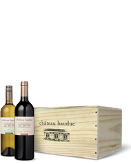 6 Bottle Wooden Case