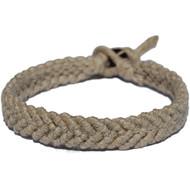 Natural hemp Feather bracelet or anklet