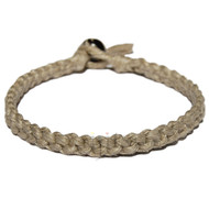 Fancy Natural Hemp Surfer Style Bracelet or Anklet