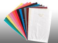 Color Merchandise Bag 12x15 w/Die-cut handle