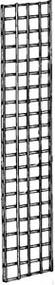 "3"" Square Grid Panel Black 2'Wx4'H"