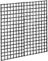 "3"" Square Grid Panel Black 4'Wx4'H"