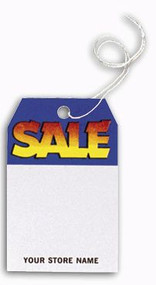 Custom Printed Retail Sale Tag