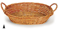 Jumbo Oval Willow Tray