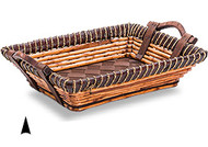 Oblong Fancy Willow & Twine Tray Allow 3 days for shipping
