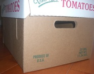 25 lb Tomato Box Bottom Only - 25 pcs.**Moving Sale**Reg.$64.95