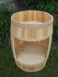 18x30 Cedar Barrel with Front cut-out