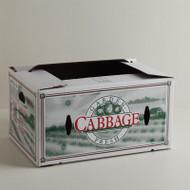 "50lb Cabbage Carton Size:22 11/16"" x 15 5/8"" x 11 3/8"""