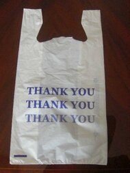 "LLD 1/6 ""T-Sack"" Bag Printed Thank You"