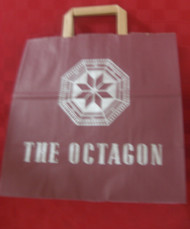 Custom Kraft Escort Shopper bag