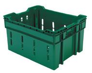 1.75 bu. Green Harvest Lug Container Bin