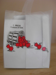 1 Peck Apple Frosted Tote bag 200 count
