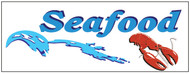 Seafood banner Heavy Duty