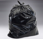44 Gallon Trash bag 1 ply  BLK