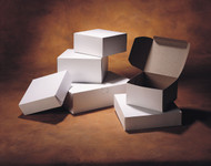 "Interlock Pie box 12"" White"
