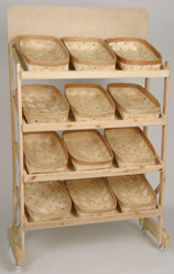 Bakers Display Rack w/12 baskets