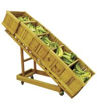 Wooden Cart - Folding Slanted Display