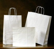 White Kraft Emerald Shopper bag #16