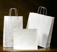 White Kraft Emerald Shopper bag #16
