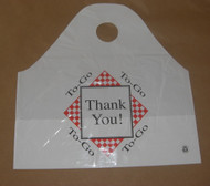 "Take-out Carry Out Bag ""To Go"""