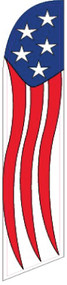 Stars & Stripes Windless Tall Flag