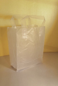 Frosted Clear Tote Bag 1