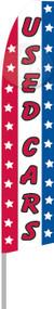 Used Cars USA Tall Flag