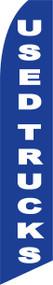 Used Trucks Blue Tall Flag