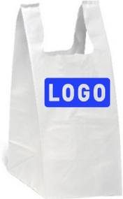 T-shirt Bag - Large Bottom Custom Printed