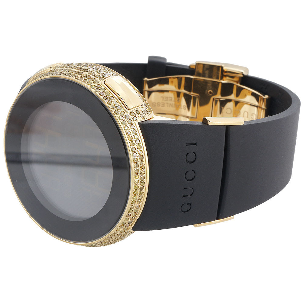 01d486686a4 Yellow Diamond I-Gucci Watch Mens Digital Gucci Grammy Edition 2.5 ...