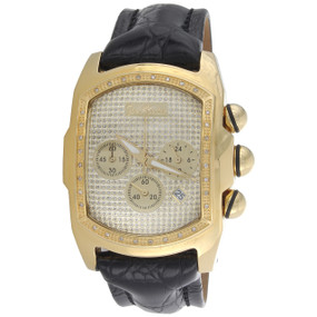 Joe Rodeo Diamond Watch JoJo King Bubble Rectangle Face Crush Dial JKI28 0.36 CT