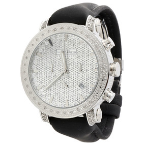 Mens JoJo Treasure JoJino Joe Rodeo 0.36 Ct Diamond Watch Marker 46mm Dial JTR31