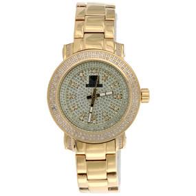 Ladies IceTime 36mm Queen 2 Row Passion Diamond Watch JoJo llusion Dial 0.75 CT.