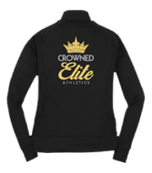 Crowned Elite Warm Up Hooded Fleece Jacket - Toddler