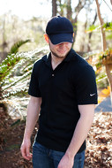 Black Nike Golf Polo