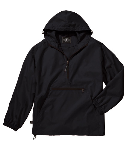 Black Charles River Water Resistant Pullover