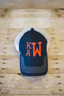 Trucker Cap with Stacked Monogram