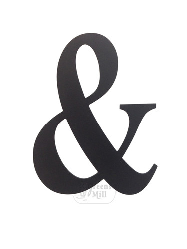 Wooden Ampersand Wall Hanging