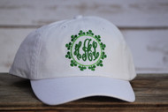 White St. Patricks Day Cap