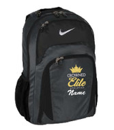 CROWNED ELITE BACKPACK WITH EMBROIDERED LOGO