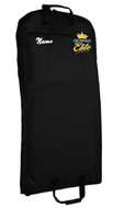 CROWNED ELITE GARMENT BAG WITH EMBROIDERED LOGO