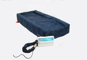 "Protekt Aire Mattress 7000 lateral rotation turning low air loss mattress system for patients with various bed sores, 36"" x 80"" x 8'' One Each."
