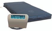 "Protekt Aire Mattress the 8000BA-48-bariatric mattress system, weight capacity 650 lbs. 10"" air cells, low pressure alarm, has a 2 year warranty."