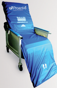 "Geri Chair Alternating Pressure Recliner Mattress & Pump Overlay System 69""x20""x3"" Free USA Ground Shipping, No Tax."