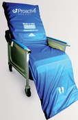 "Geri Chair  Alternating Pressure Recliner Mattress & Pump Overlay System 69""x28""x3"" Free USA Ground Shipping, No Tax,"